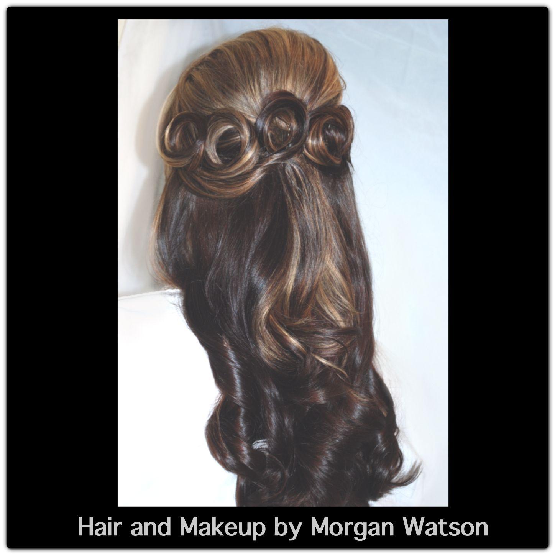 Hair and makeup by Morgan Watson #temecula #wedding #weddinghair #hairandmakeupbymorganwatson  http://www.hairandmakeupbymorganwatson.com/