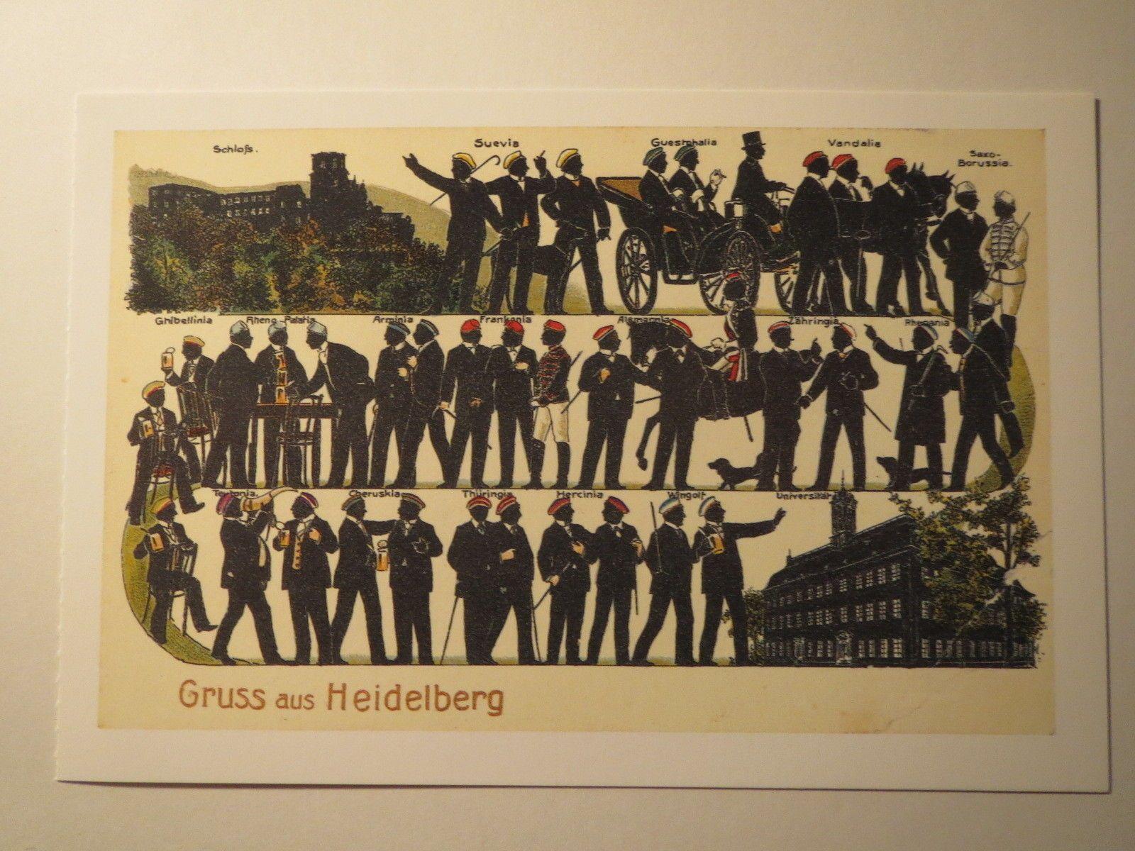 Heidelberg Gruss AUS Korporationen Studentika Corps Burschenschaft | eBay