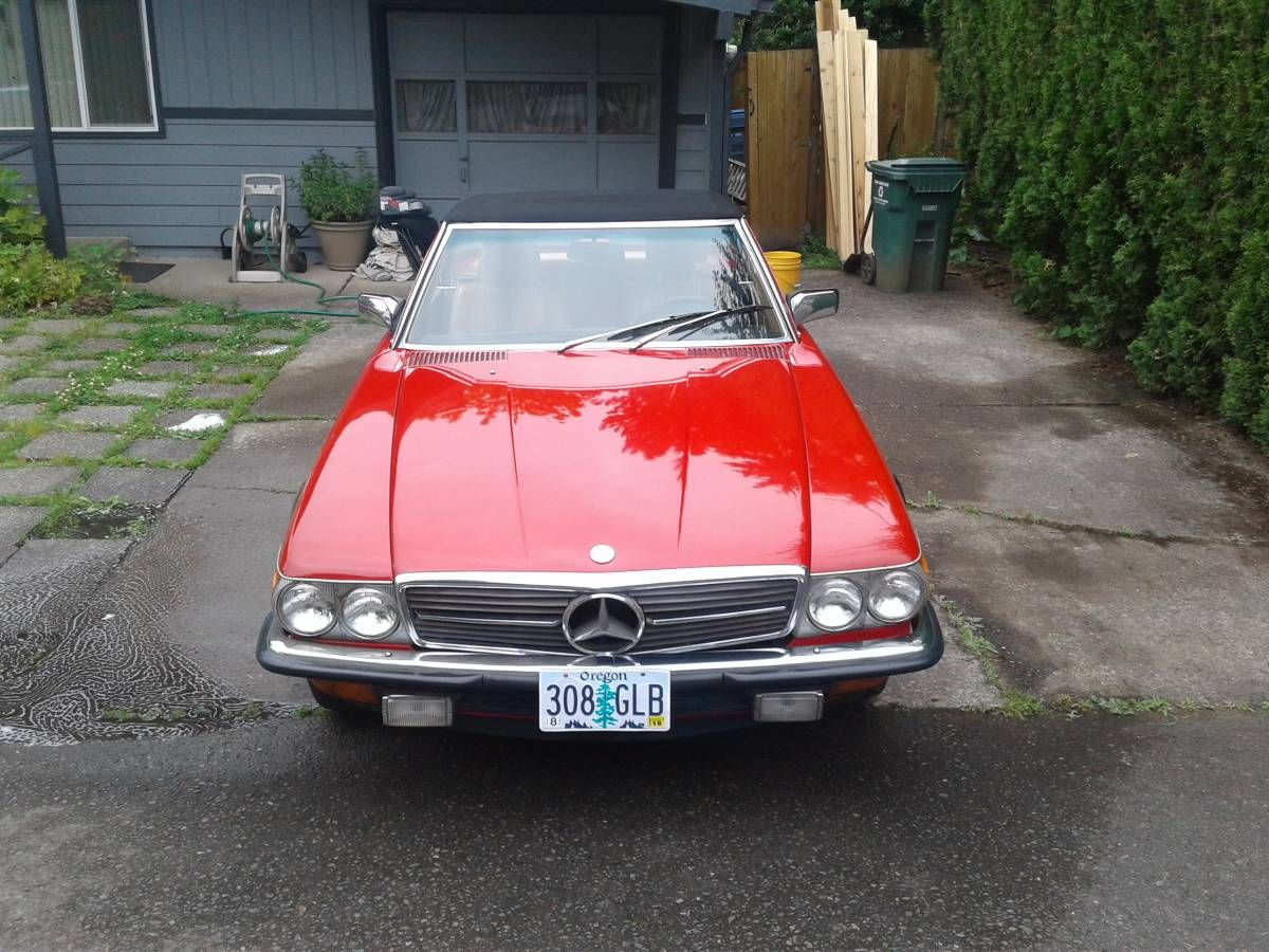 1983 Mercedes 280 SL cars & trucks by owner vehicle