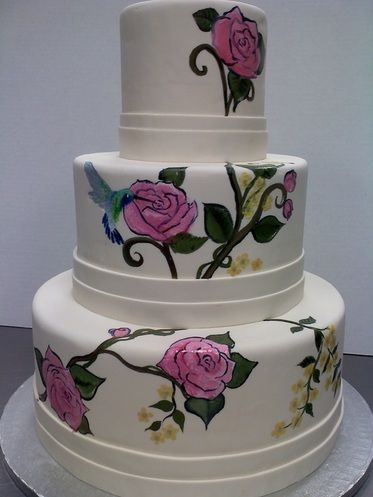 French cake decorating roses