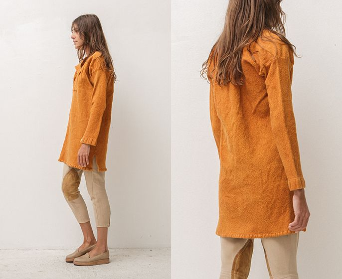 wool tunic | Where I Was From
