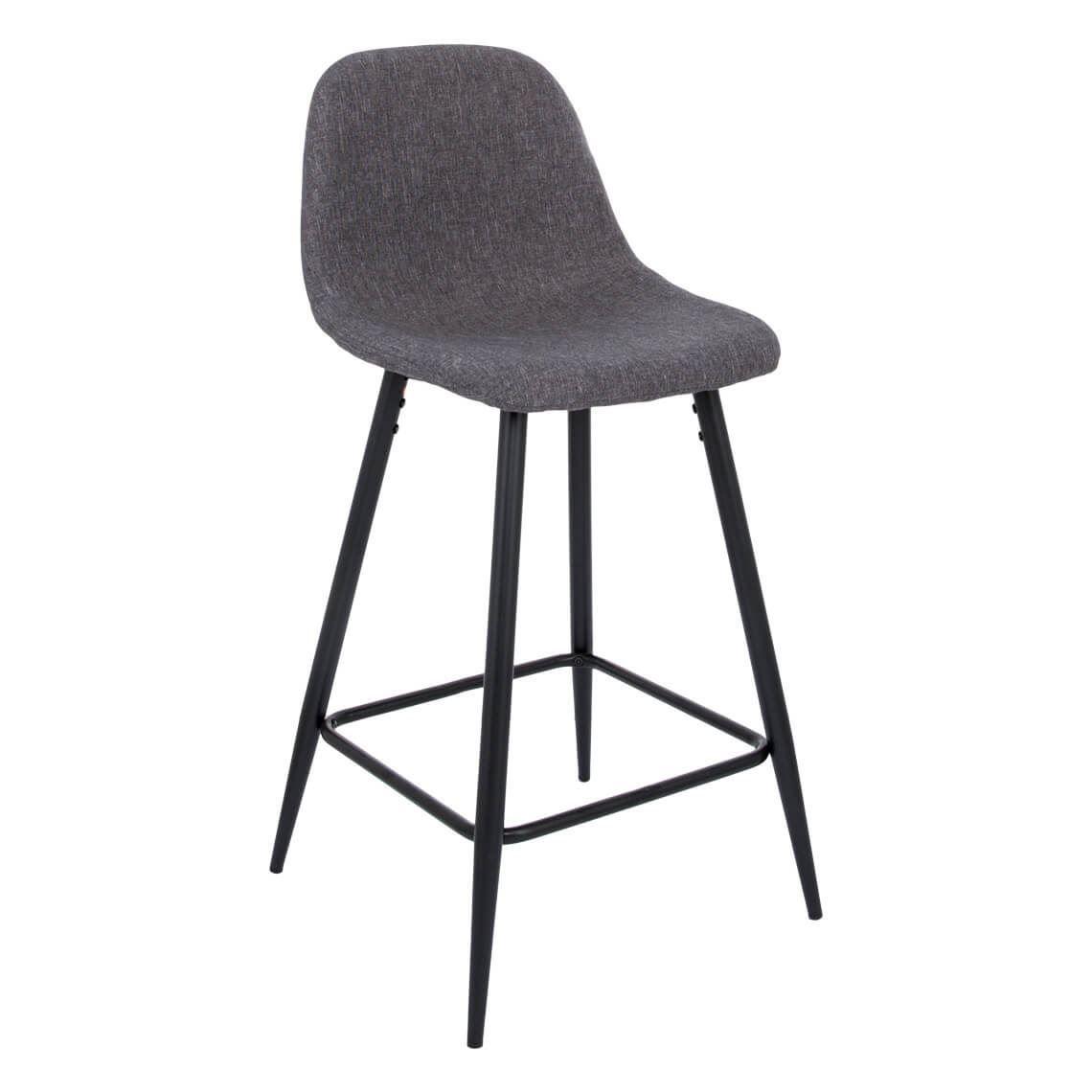 Charlton Bar Stool, Charcoal   Bar stools, Counter stools, Stool