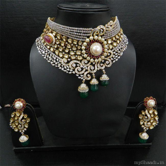 Modern Indian Wedding Jewellery: Preeti Jain Bridal Jewellery
