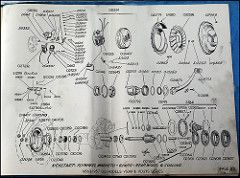 page 22. 1950's Vespa engine layouts, wiring diagrams ... Vespa Gs Wiring Diagram on