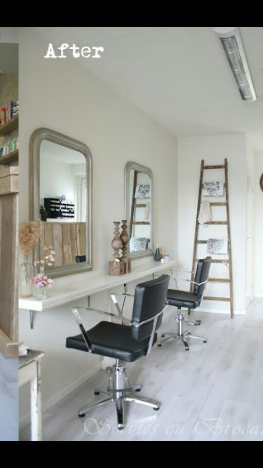 Super idee kapsalon kapsalon ideeen pinterest for Interieur ideeen