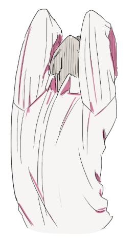 服のシワについて考える 萌えイラストを描きたいぷらす Art Is
