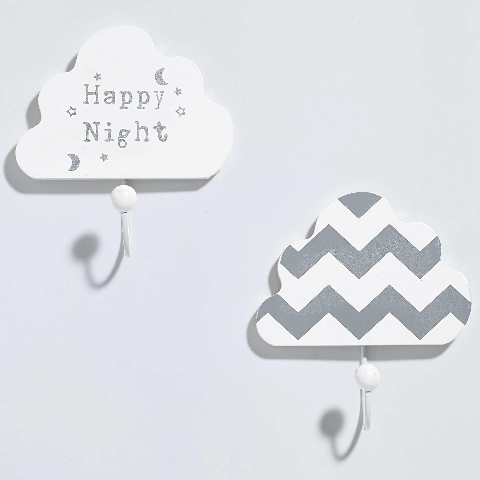Pateres nuage chambre bébé gar§on Pinterest