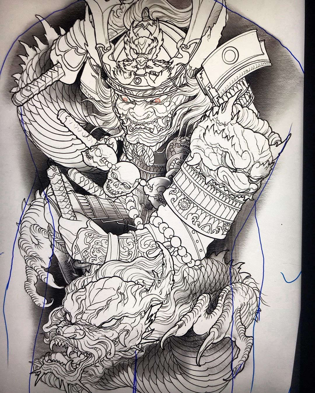 Jason kim в Instagram «samuraidragon backpiece i