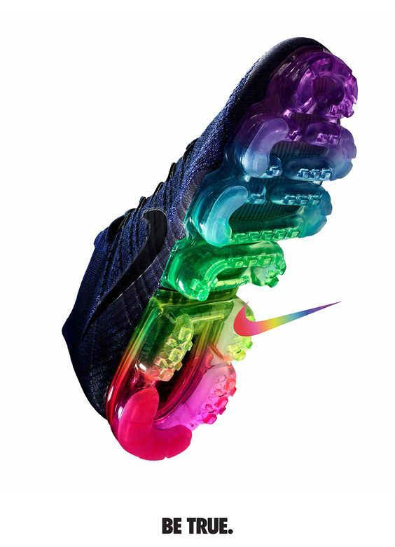finest selection f7af1 fe3dd Since 2012, Nike has expressed its support of the LGBTQ community by way of  sneaker and apparel releases inspired by the original 1978 pride flag.