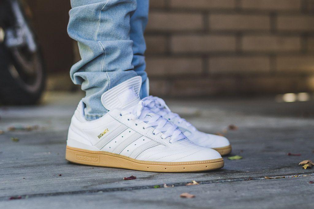 adidas busenitz white gomma ai piedi scarpe revisione pinterest