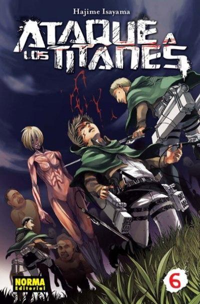 Ataque A Los Titanes 6 Hajime Isayama Libro En Fnac Es Kyojin Ataque De Los Titanes Shingeky