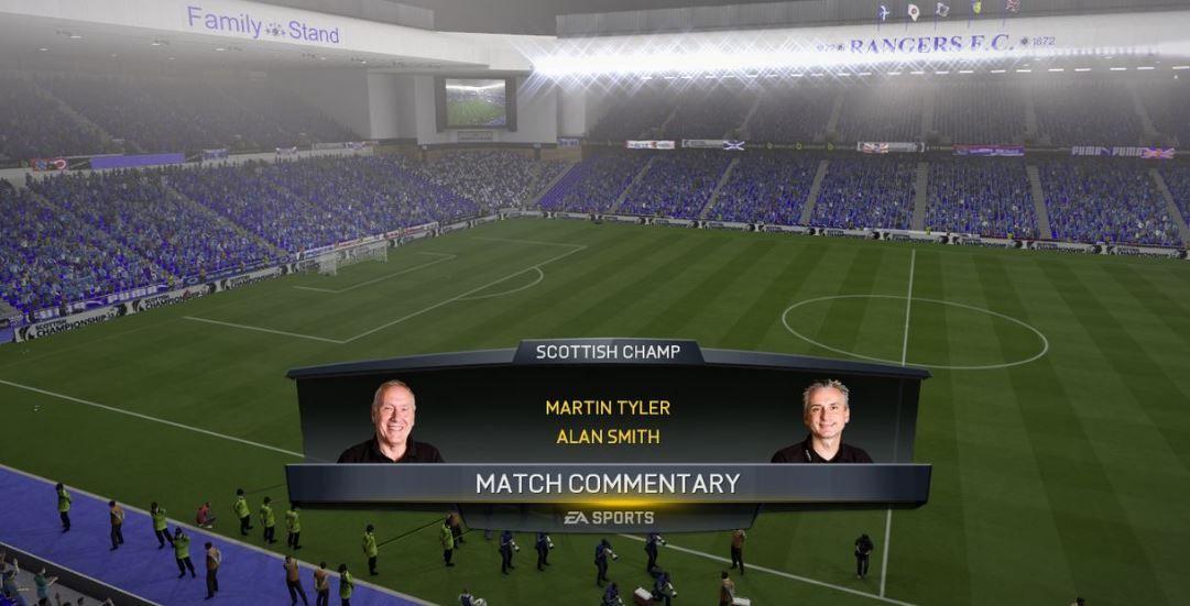 IBROX STADIUM CELTIC PARK HAMPDEN TO BE IN FIFA 17