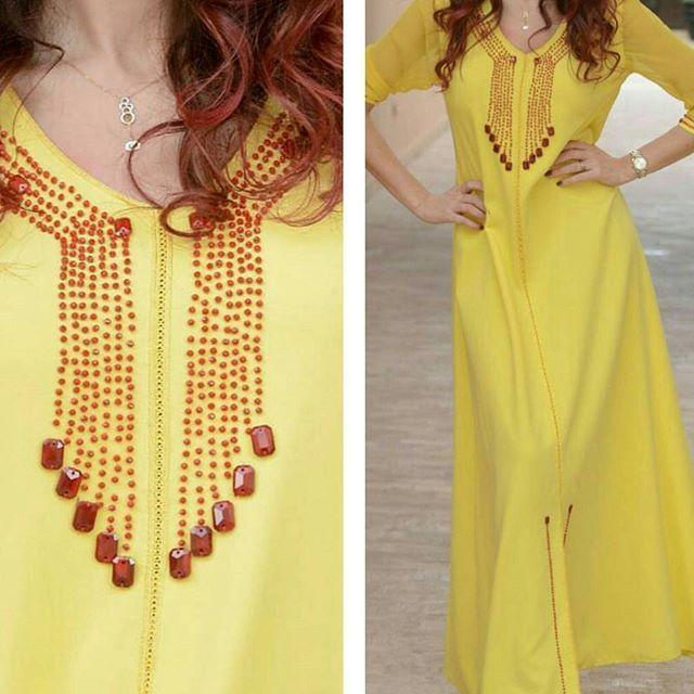 جلابيات مغربية للطلب التواصل 00212651487262 مخور دبي قطر اماراتيه راس الخيمة زهبة Dress Neck Designs Clothes For Women Moroccan Dress