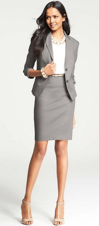 9bc63501afaf Appropriate interview attire for women.