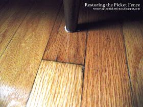 Removing Scratches From A Wood Floor 1 Part Vinegar 1 Part