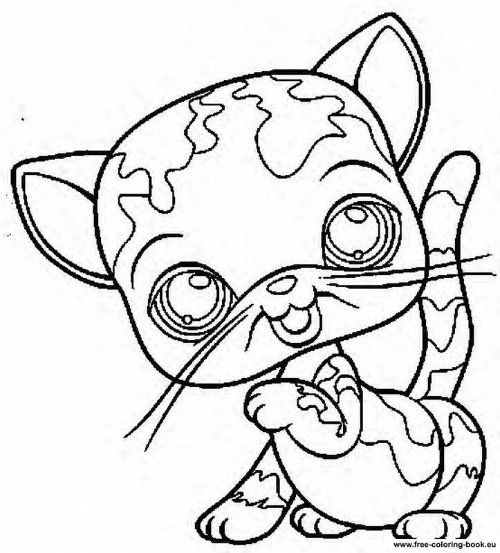 My Little Pets Shop Colouring Pages Coloring Pages Little Pets Printable Coloring Pages