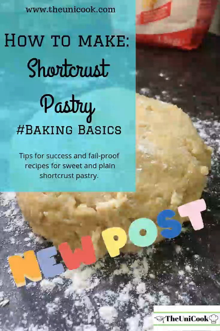 It´s pastry week on Bake Off so it´s time to brush up on those pastry skills! Shortcrust pastry is something every keen baker should know how to make and it´s perfect for making sweet tarts or savoury quiches! Check out my baking basics post on my blog for tips and tricks for success, as well as recipes for you to try! #shortcrustpastry #greatbritishbakeoff #bakingbasics #PastryWeek #bakewelltart #shortcrust #GBBO #howtomakeshortcrustpastry #quiche #sweetpastry #lemonmeringuepie #custardtart