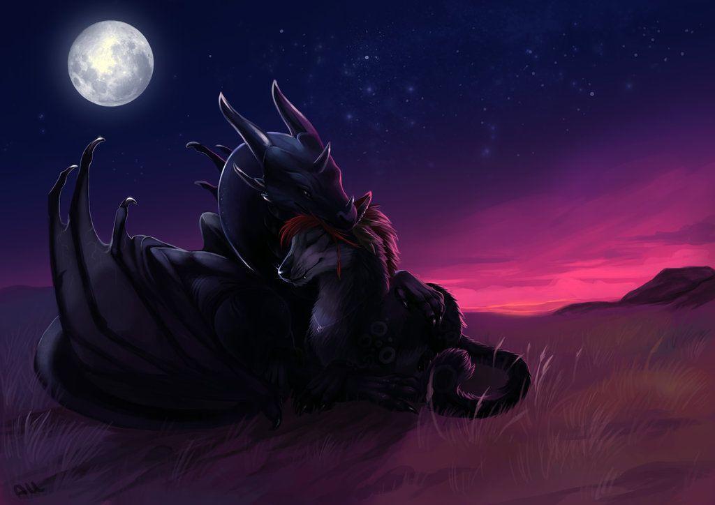 .:Under the moonlight:. by Allagar