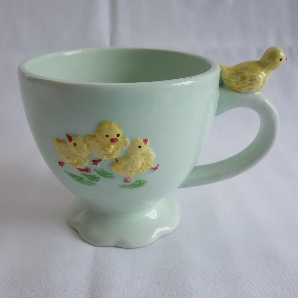 Kate Williams Global Design Connections Baby Chick Ceramic Coffee
