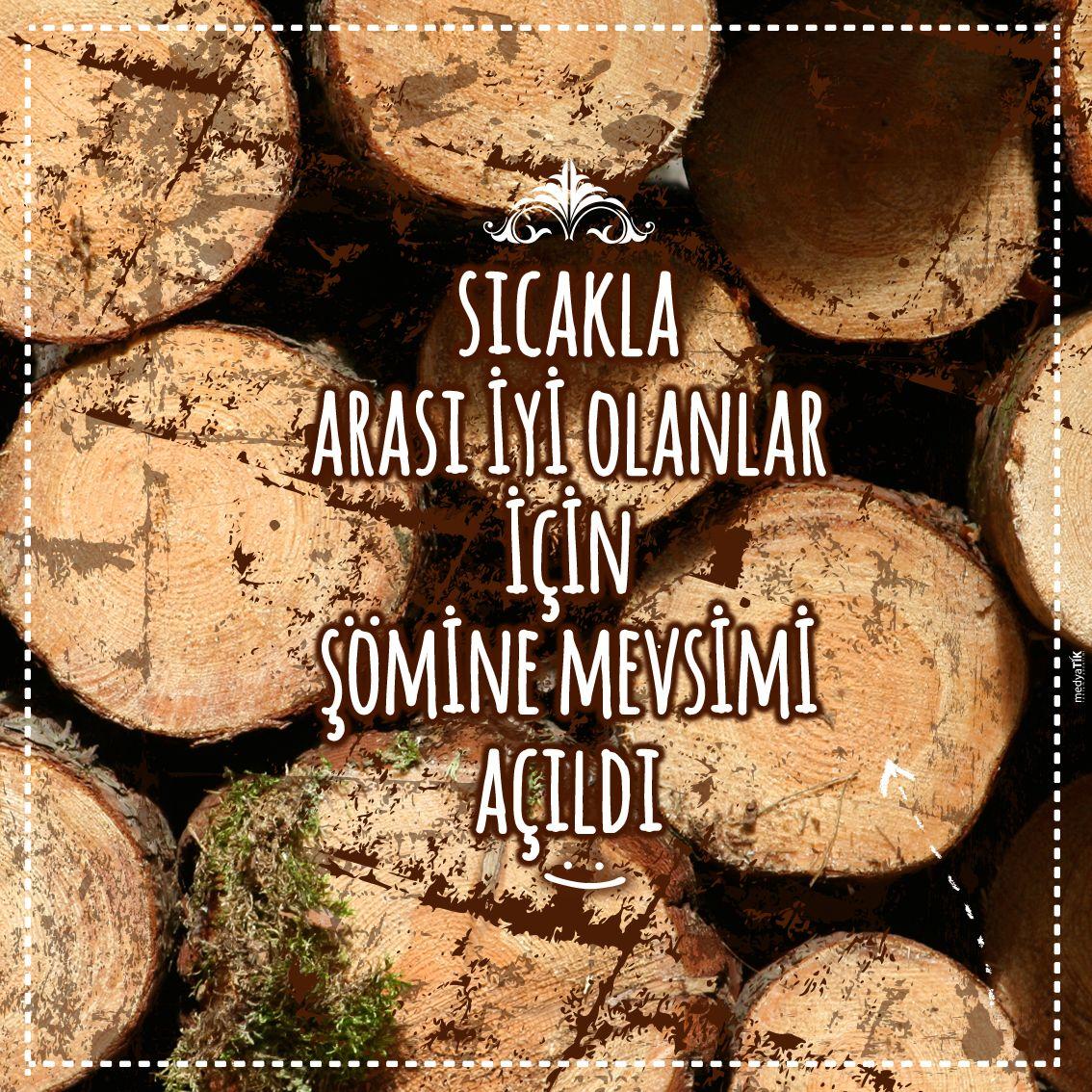 Siesta Meşelipark'ta şömine sezonu açıldı takipçilere duyurmak lazım :)