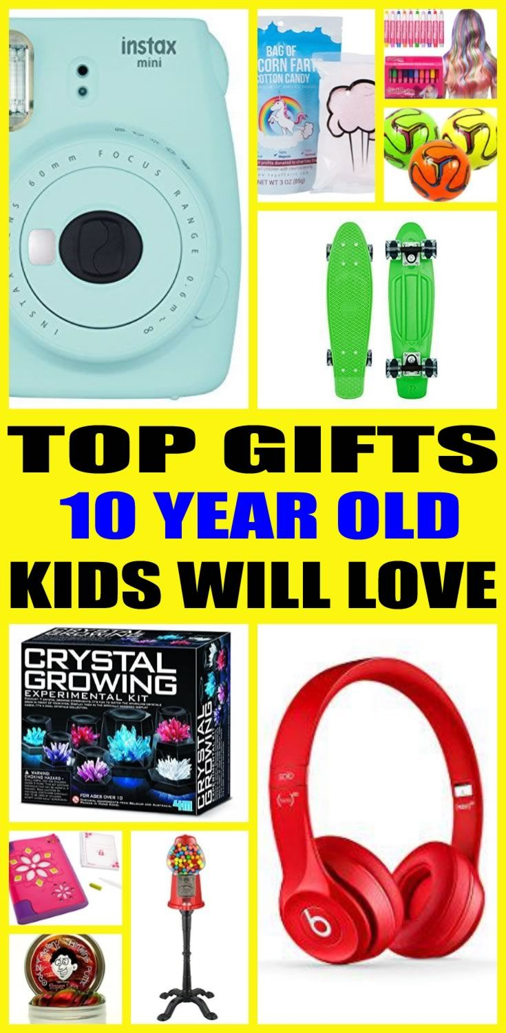The Ultimate Gift Guide For 10 Year Olds Find Top Birthday Gifts That A Old Will Love Shopping Can Be Hard So Here Are