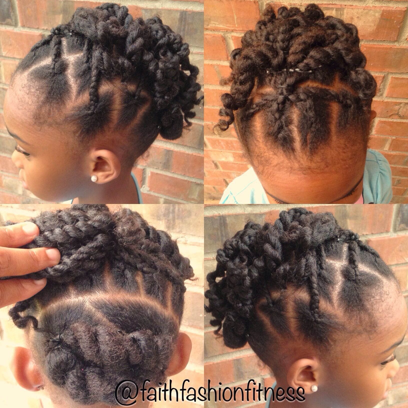 Hairstyles For Little Kids Natural Hairstyle Protective Style For Kids Styles For My Girls