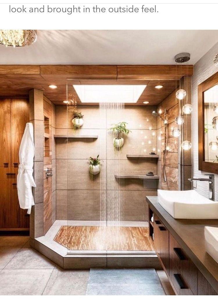Skylight Shower Bathroom Inspiration Modern Bathroom Remodel Master Luxury Bathroom