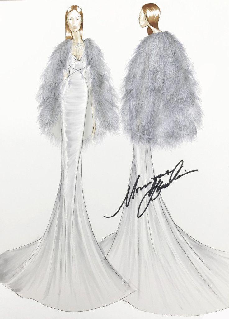 50 Sfumature di Nero Film  il vestito di Anastasia per il Ballo in maschera   e69c8740fc3