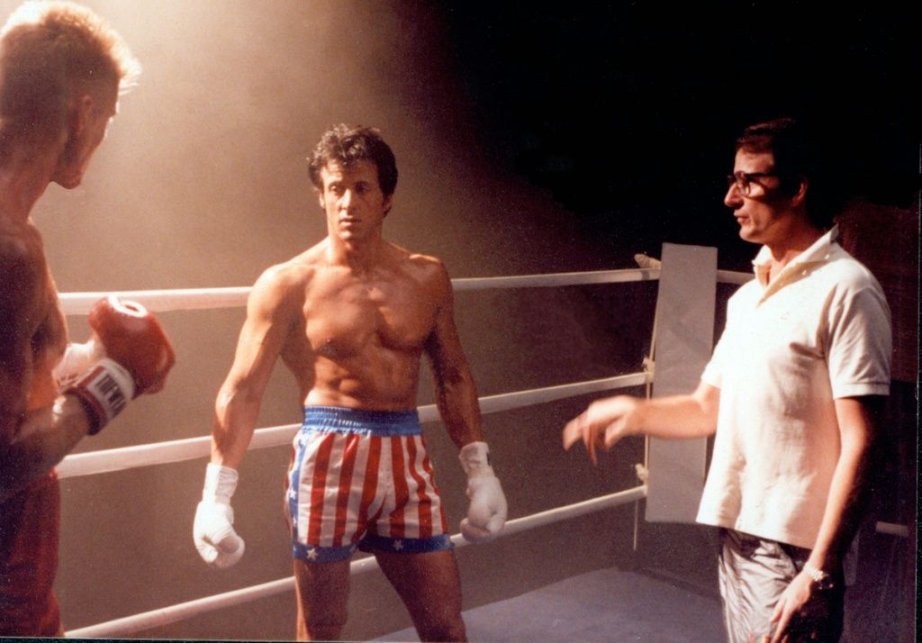 Rocky 4 Behind the Scenes | Making of Rocky IV | Sylvester stallone,  Sylvester stallone young, Sylvester