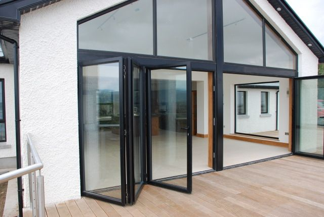 Double Glazed Designer Series Aluminium Bi Fold Dooraluminium Glass Folding Door As