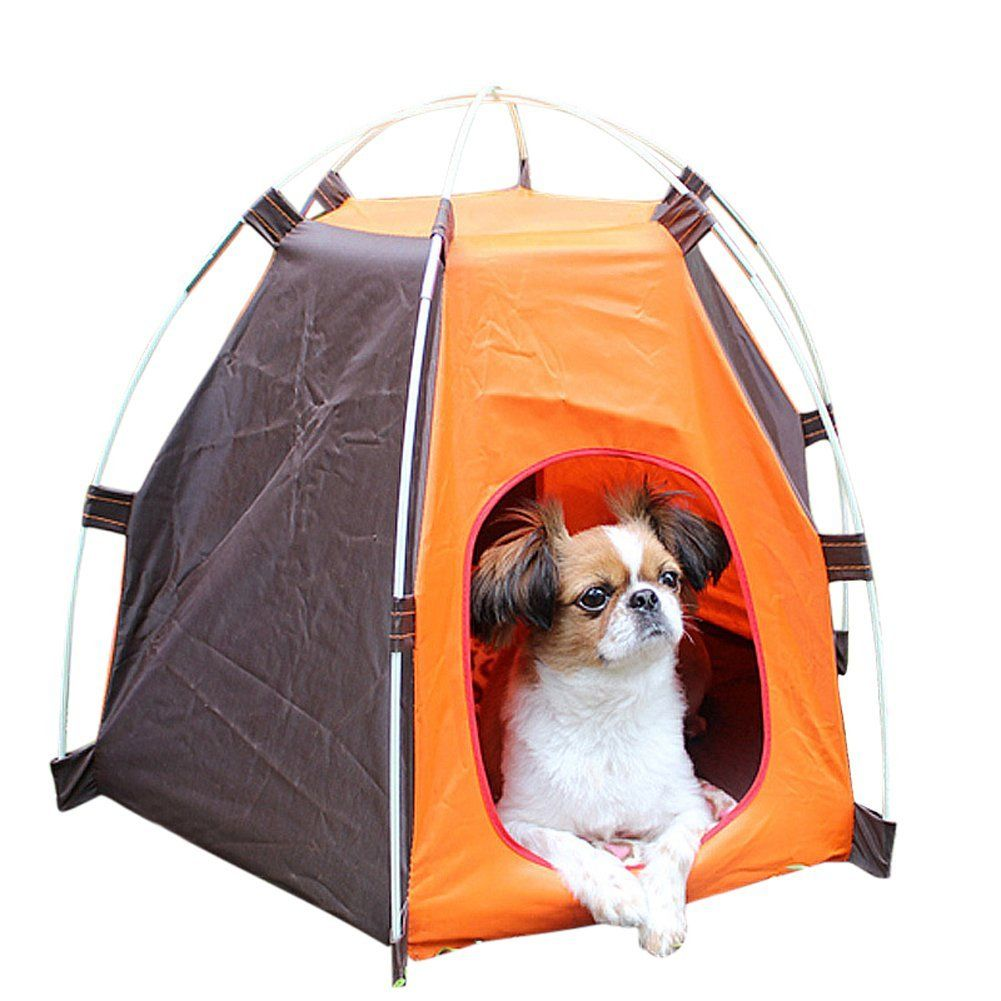 EITC Portable Folding Dog House Sun Beach Tent for IndoorOutdoor Waterproof Pet Tent Dog  sc 1 st  Pinterest & EITC Portable Folding Dog House Sun Beach Tent for IndoorOutdoor ...
