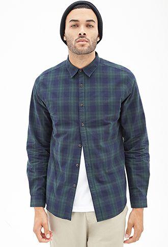 Tartan Plaid Flannel 21 Men 2055880230 Green Navy Plaid