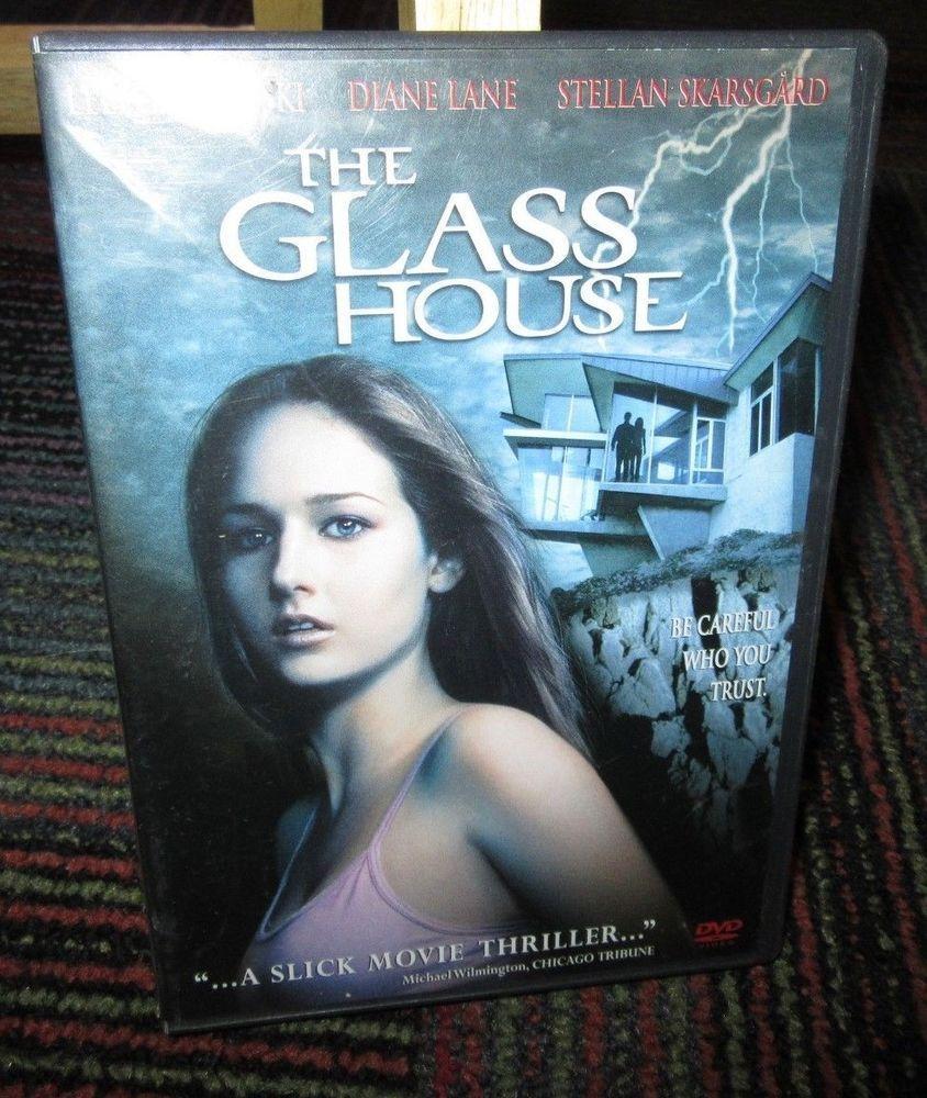 The Glass House Dvd Movie Leelee Sobieski Diane Lane Stellan Skarsgard Guc