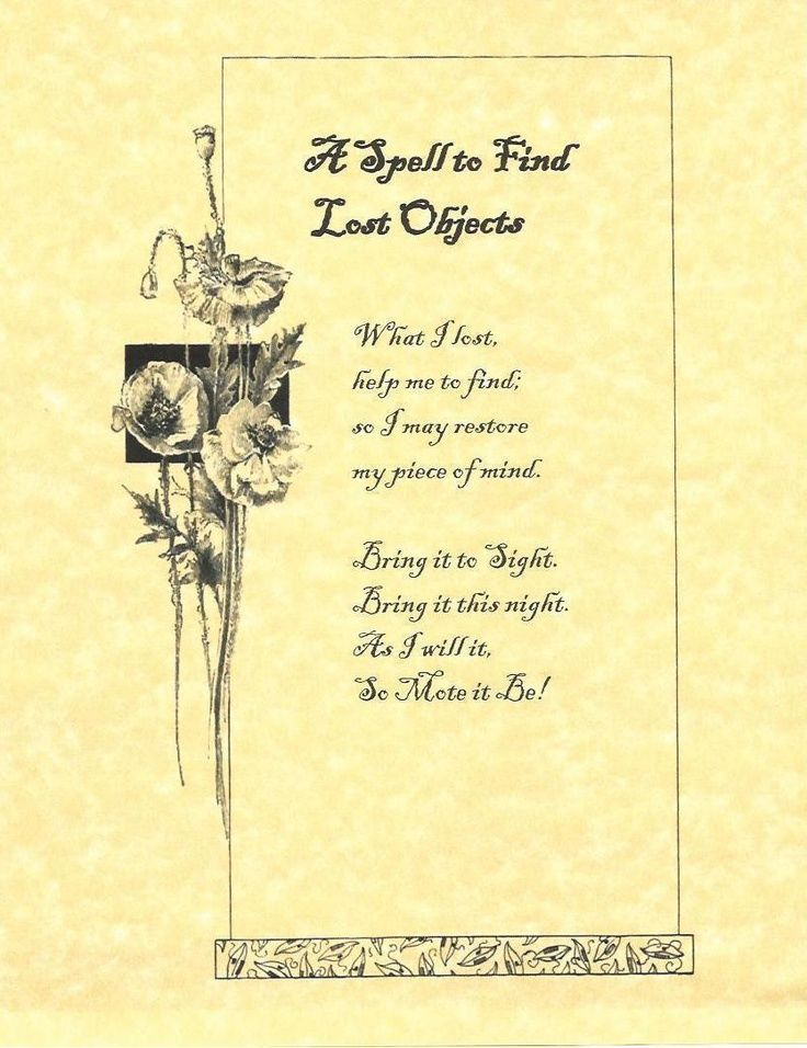 lost object Book of shadows, Wiccan spells, Wicca