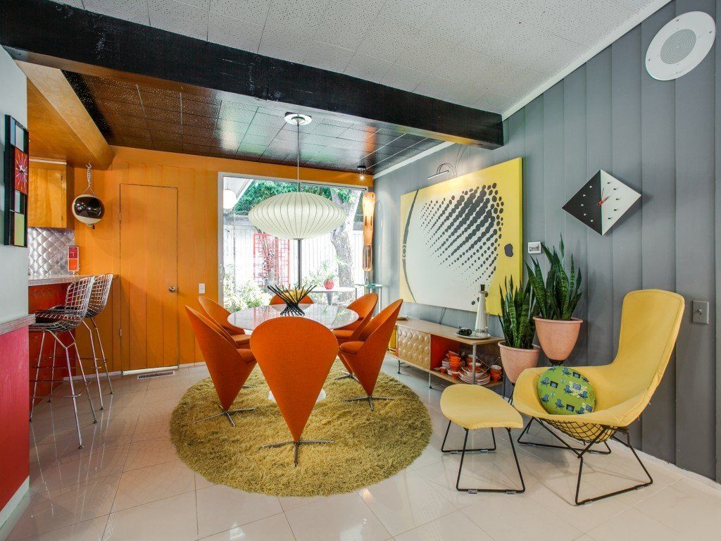 Candy Colored Mid Century Modern Throwback In 2020