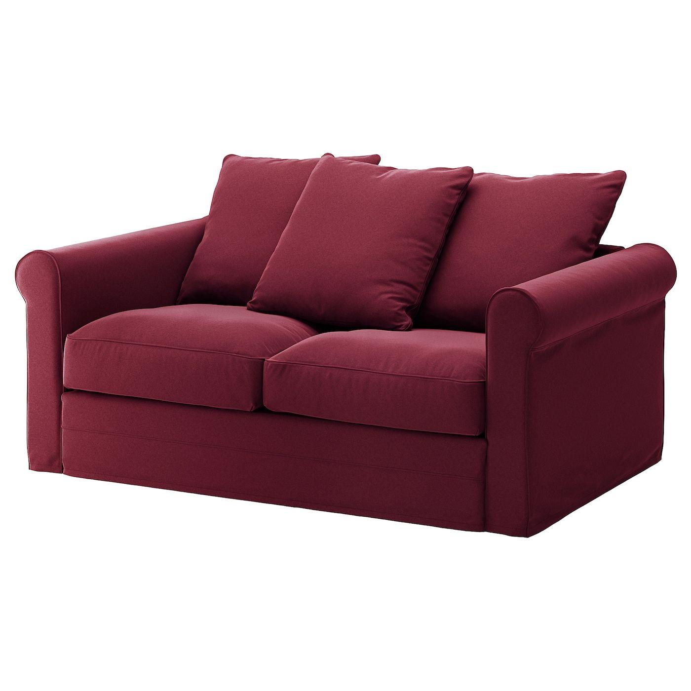 Ikea Gronlid Loveseat Ljungen Dark Red 2er Sofa Bettsofa Sofa Stoff