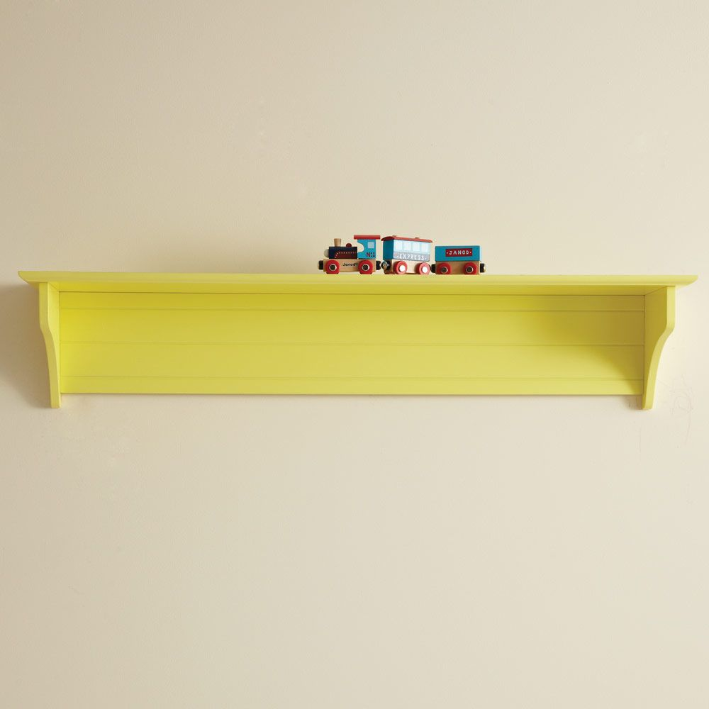 Any Which Way Wall Shelf - Long - Yellow - New In - Children\'s ...