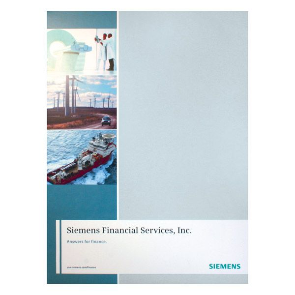 design] siemens financial services presentation folder | tax, Presentation templates