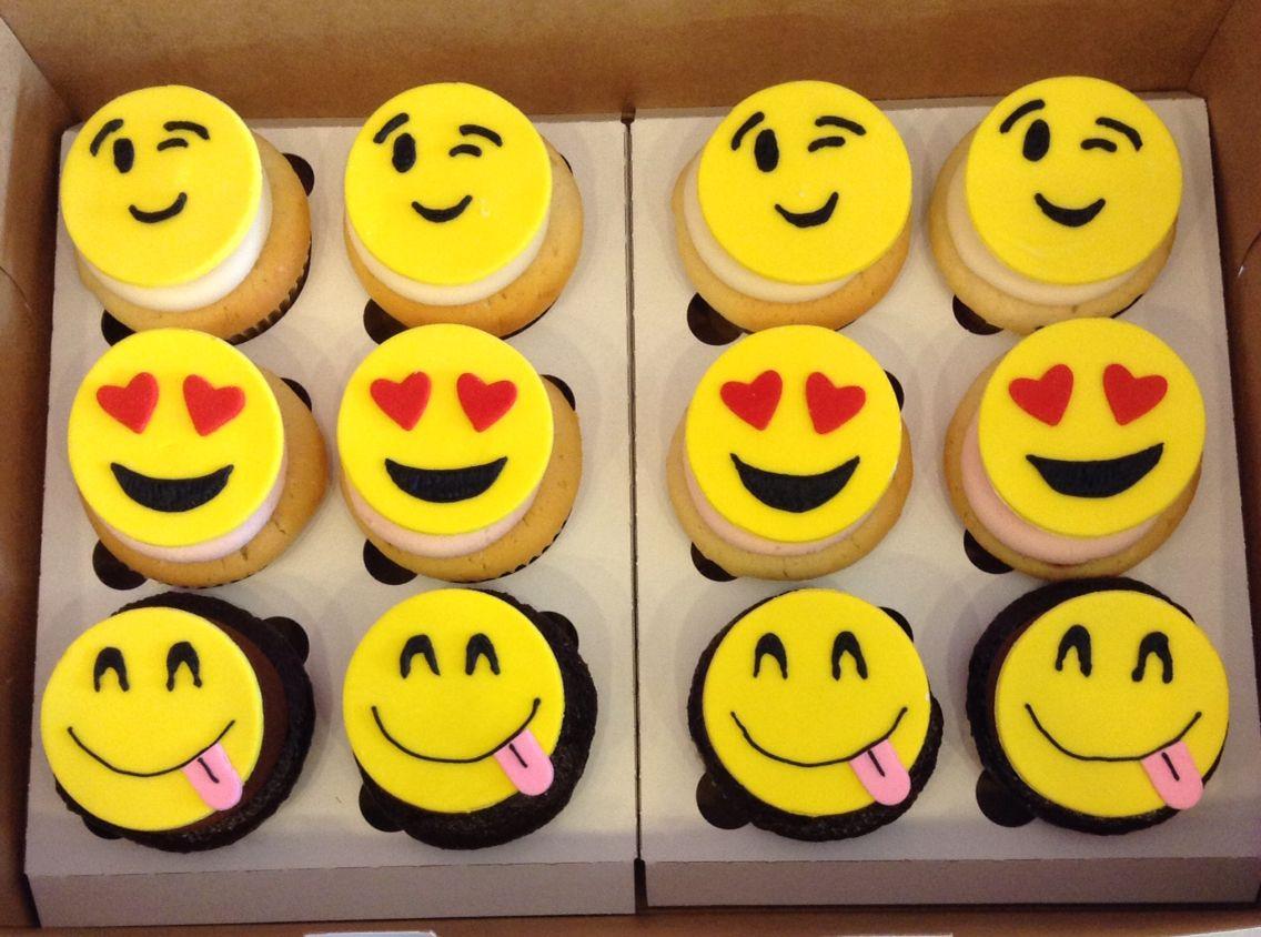 Emoji Cupcakes Emoji Cake Emoji Cupcakes Cookies For Kids