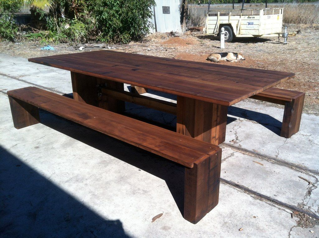 Special table from tankwood table dining table rustic