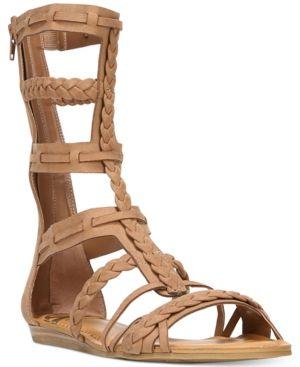 Fergalicious Zaille Gladiator Sandals - Brown 9.5M