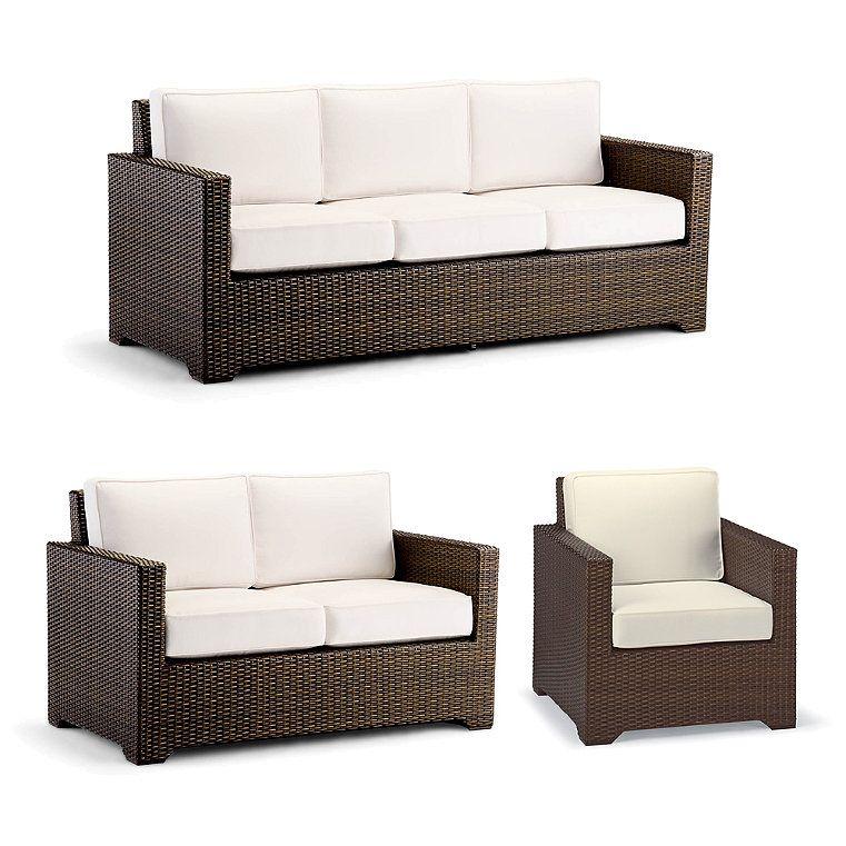 Small Palermo 3 Pc Sofa Set In Bronze Finish Tailored Furniture Furniture Sofa Set