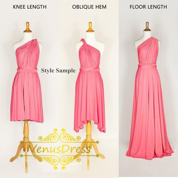 Navy Dress Bridesmaid Dress Infinity by VenusDress on Etsy | Wedding ...