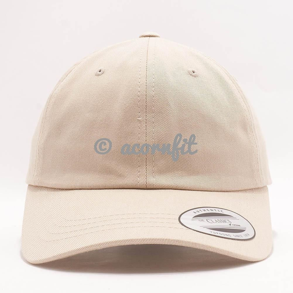 75221bcc8d7 Wholesale Yupoong 6245CM Cotton Twill Dad Hat  Stone