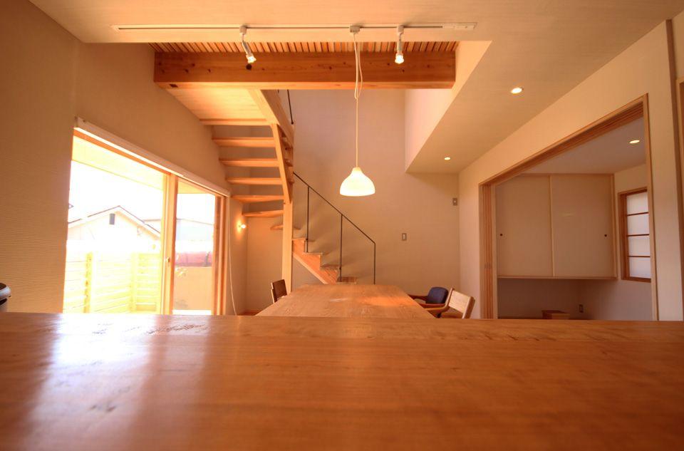 25坪の小さな家 大阪狭山市 木の家 土壁 素材を使った新築