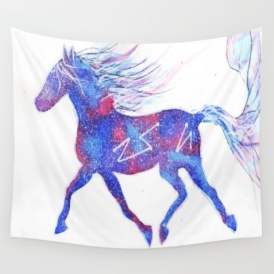 My Galaxy Horse Kid S Room Pinterest Horses And Children
