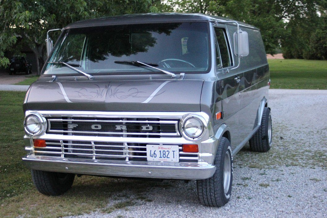 For Sale 1973 Ford Van Ford Van Custom Vans For Sale Custom Vans