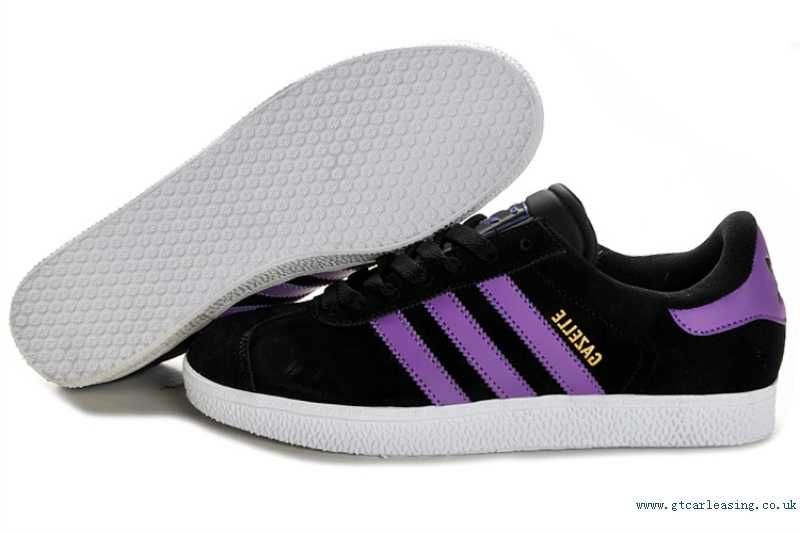 Originals Gazelle 2 Shoes HF12Y Adidas Black/Purple | Shoes ...