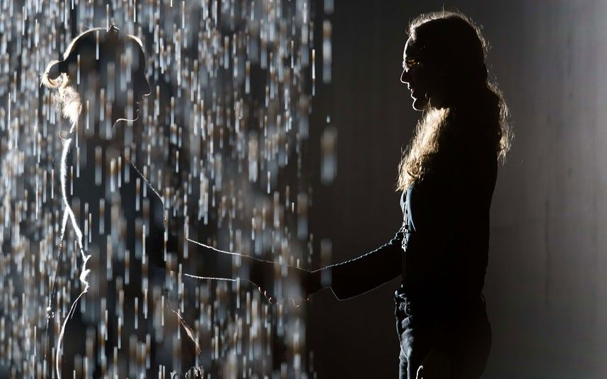 Control The Weather In The Rain Room At The Curve Barbican Centre