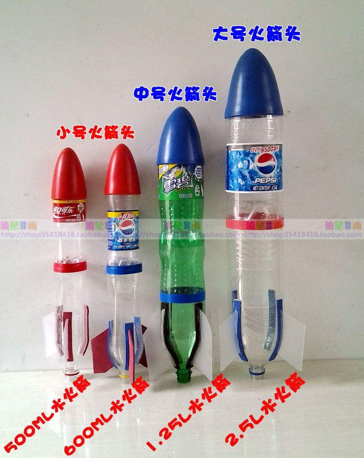 soda bottle rockets instructions